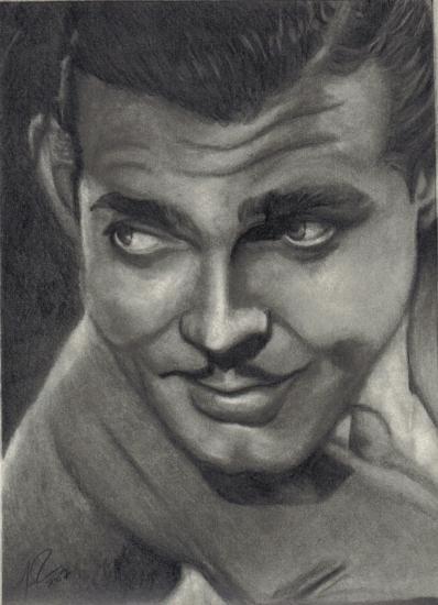 Clark Gable by Mattyrich